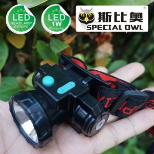 1W 2W LED Headlamp 1PC Rechargeable Lithium Battery Powerful Beams of Light Floating Light, Fishing Light pictures & photos