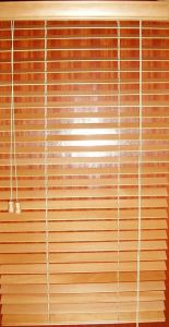 25mm Window Horizontal Bamboo Venetian Blinds Window Covering pictures & photos