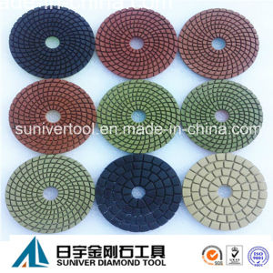 Colorful Series Premium Wet Polishing Pads Diamond pictures & photos