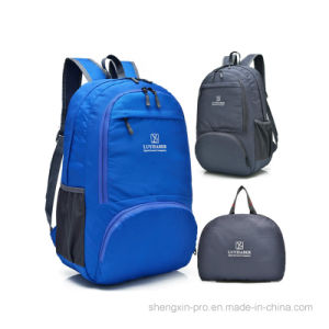 High Quality Foldable Black Back Pack with Shoulders for Adult pictures & photos
