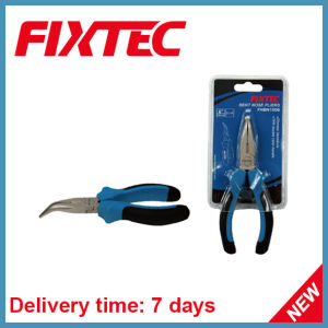 "Fixtec Hand Tools 6"" 160mm CRV Bent Nose Pliers pictures & photos"