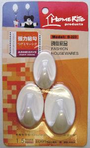 Plastic Adhesvie Hook (HK009) for Household Produc