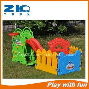 Plastic Indoor Slide with Ball Pool pictures & photos