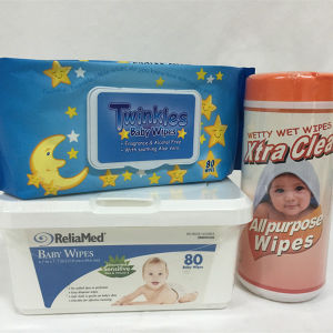 Alcohol Free Microbe Tested Refreshing Baby Wet Wipes pictures & photos