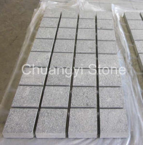 G654/G603/G684/G682/G654 Granite Cube/Cobble/Paving Stone for Landscape/Garden/Outdoor Decoration, Cobbles with Mesh on Back pictures & photos