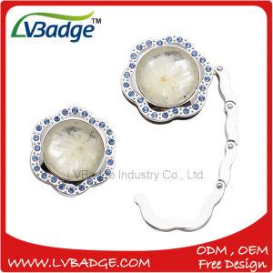 Custom Metal Foldable Crystal Bag Hanger pictures & photos