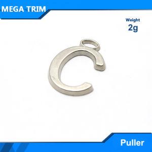"""Nickel Letter """"C"""" Metal Zipper Puller pictures & photos"""