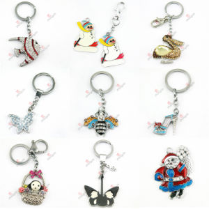 2015 Newest Animal Crystal Keychain Wholesale (KR-09-16) pictures & photos