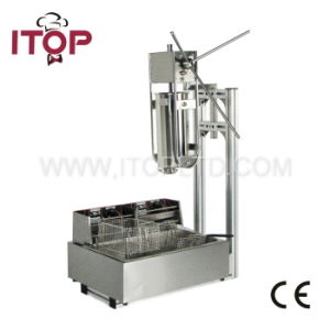 5L Churros Machine with a 12L Electric Fryer (ITCM-10) pictures & photos