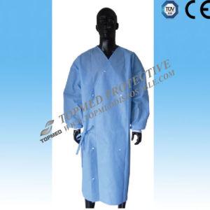 Nonwoven Disposable Lab Coat, Disposable Lab Jacket Coat, SBPP Medical Gown Apron pictures & photos