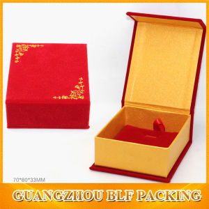Magnetic Cardboard Velvet Jewellery Box (BLF-GB504) pictures & photos