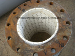 Super Wear Resistant Steel Pipe with Ceramic Lining pictures & photos