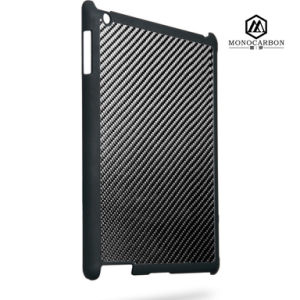 Factory Directly Selling Carbon Fiber Rubberized PC Plastic Case for Apple iPad 2 3 4 pictures & photos