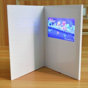 High Quality Mini LCD Video Greeting Card/Wedding Invitation Card pictures & photos