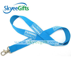 Cheap Custom Logo Printing Polyester Lanyards for Gift pictures & photos
