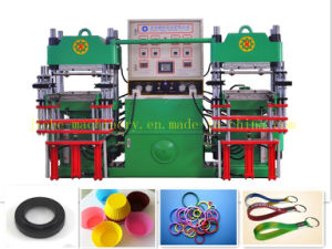 Horizontal Rubber Silcone Compression Molding Machine pictures & photos