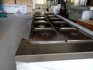Stainless Steel Food Warmer Trolley Bain Marie pictures & photos