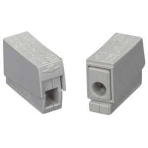 Cmk-101 Cage Clamp Lighting Connectors One in-Two out pictures & photos