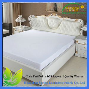 OEM Designed Removable Waterproof Terry Mattress Protector pictures & photos