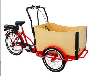36V 250W Electric Cargo Tricycle pictures & photos