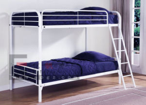 Bedroom Furniture Steel Frame Bunk Bed for Student pictures & photos
