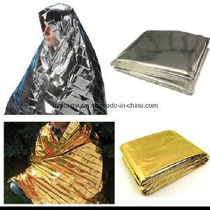 Emergency Foil Blanket, First Aid Rescue Blanket pictures & photos