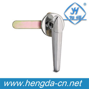 New Design Electric Cabinet Lever Handle Lock (YH9689) pictures & photos