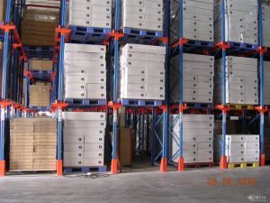 Metal Floor Display Rack Drive in Rack pictures & photos