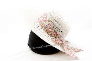 Laidies Fashion Braid Toyo Straw Hat pictures & photos