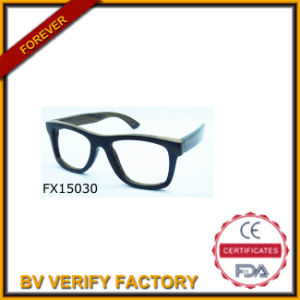 Handmade Simple Wooden Sunglasses (FX15030) pictures & photos