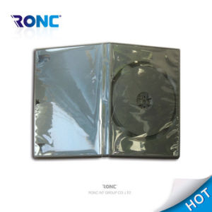 High Quality 14mm Single/Double Side Black DVD Box DVD Cover pictures & photos