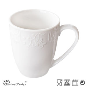 Promotion Ceramic Embossed Porcelain Mug pictures & photos