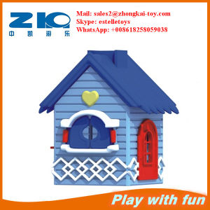 Indoor Playground Hot Selling Plastic House for Kids pictures & photos