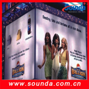 Sound High Quality Backlit PVC Flex Banner pictures & photos