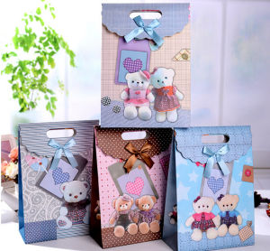 Customise Paper Gift Bag for Cloths and Crafts pictures & photos