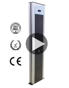 Best Price of Single Post Digital Metal Detector Door pictures & photos
