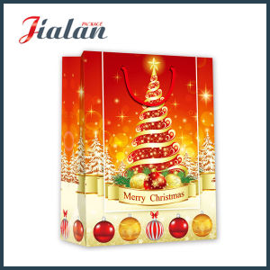Colorful Printing Gift Paper Bag for Christmas pictures & photos