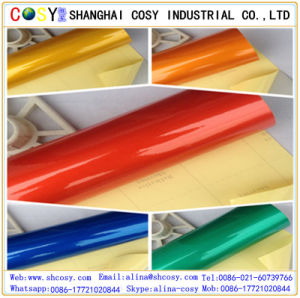 Color Glossy Films Reflective Car Wrap Vinyl for Car Wrapping pictures & photos