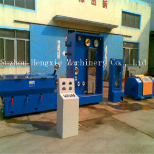 Hxe-17dt Wire Drawing Machine with Annealer pictures & photos