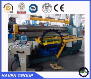 W11H-12X2500 3 rolls Automatic plate industrial bending rolling machine pictures & photos