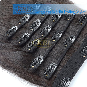Clip-in Hair Extension Brazilian Human Hair pictures & photos