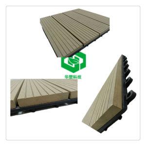 Anti-UV waterproof Wood Plastic Composite Decking Tiles pictures & photos
