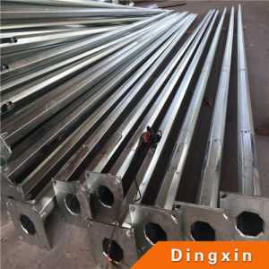 4m Hot Deep Galvanized Metal Pole with ISO CE pictures & photos