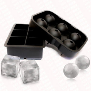 6 Hole Ice Hockey 6 Block Ice Cube Tray Suite pictures & photos
