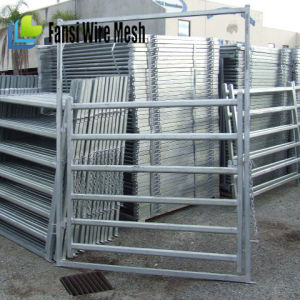 40 X 80mm Oval Rail Portable Yard Panels pictures & photos