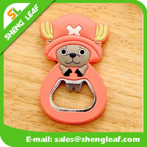 High Quality Engraved Logo Cartoon Bottle Opener pictures & photos