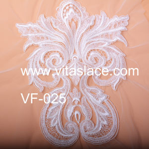 Rayon & Polyester Lace Motif Used on Wedding Veil Vf-025c pictures & photos