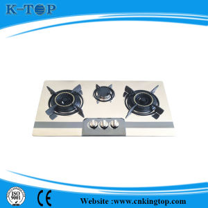 3burner Cheap Price LNG Built-in Gas Cooker pictures & photos