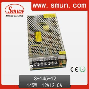 145W Single Output Switching Power Supply 12V12A pictures & photos
