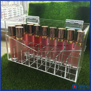 Acrylic Lipstick Holder Case Handmade with Lid pictures & photos